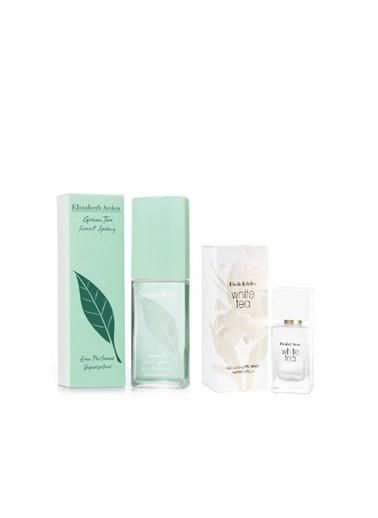 Elizabeth Arden Elizabeth Arden Green Tea Scent Edt 100 Ml Kadın Parfüm+White Tea Edt 30 Ml Kadın Parfüm Renkli
